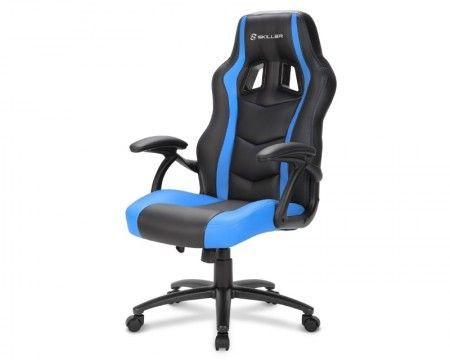 Slika Sharkoon Skiller SGS1 crno-plava Gejmerska stolica