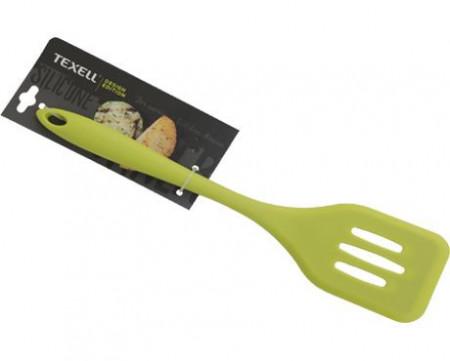 Slika Texell silikonska špatula za prženje 29.2cm zelena ( TS-SP126Z )