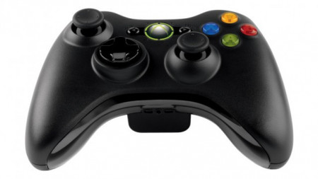 Slika XBOX360 wireles controler black