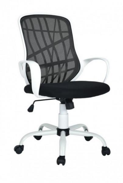 Slika Kancelarijska fotelja ES 355 crno-bela