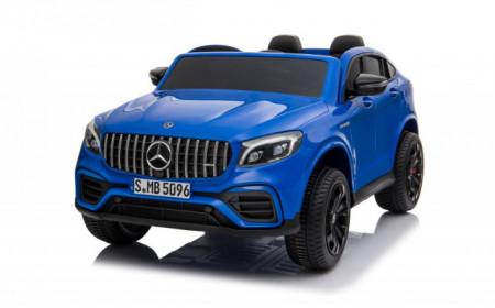 Slika Mercedes Licencirani Dvosed 4x4 model 311/1 sa kožnim sedištima i mekim gumama - Metalik plavi