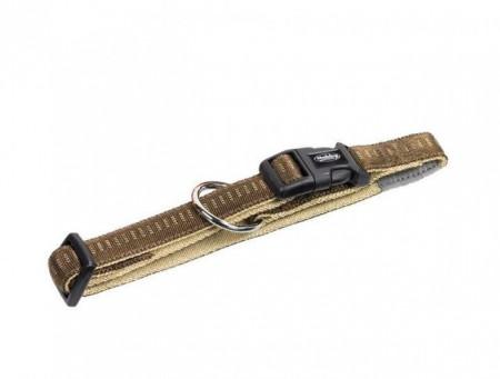 Nobby 78510-23 Ogrlica Soft Grip 15mm, 25/35cm braon ( NB78510-23 )