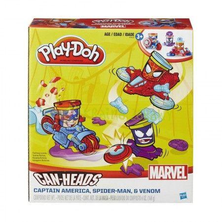 Slika Playdooh 456B0606 Marvel plastelin