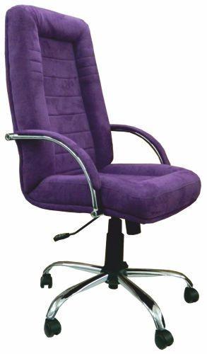 Slika Radna fotelja - 9000 M CR/ CR Ljubičasta (štof)