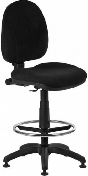 Radna stolica - 1042 Ergo + Ring - Crna