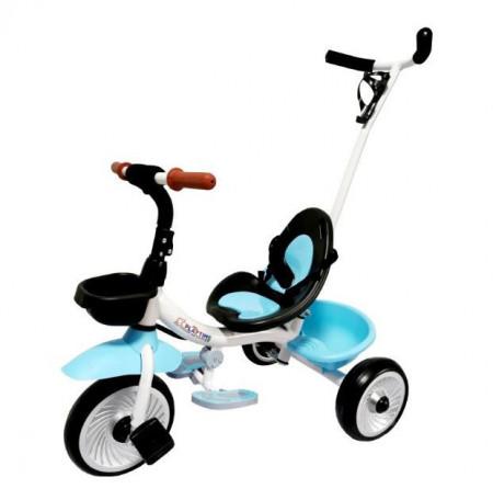 Slika Tricikl sa ručicom za guranje model 429 - Plavi