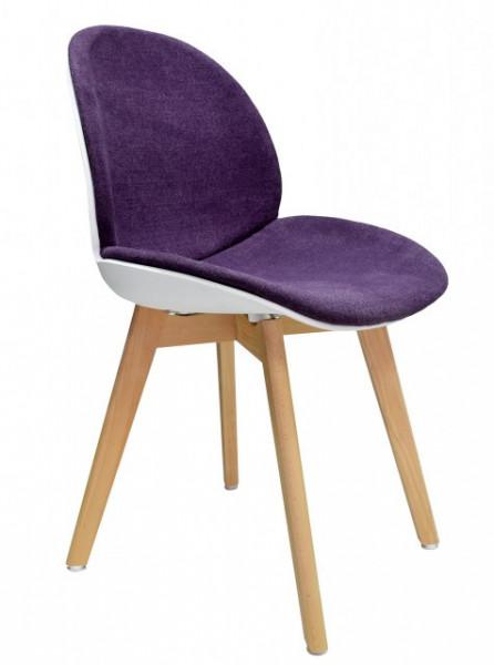 Slika Trpezarijska stolica TRACE - Ljubičasta
