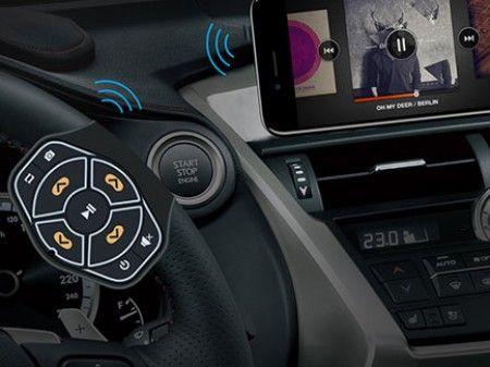 Slika Univerzalni daljinski upravljač za auto radio ( 00B01 )