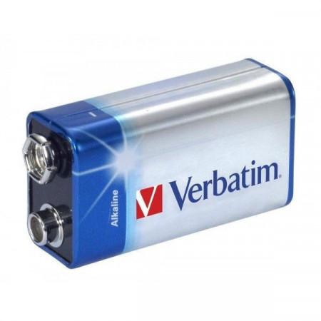 Slika Verbatim alkalne baterije 9v 49924