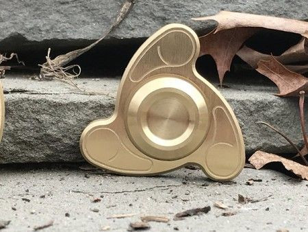 Slika Xwave Spinner metalni 24 gold