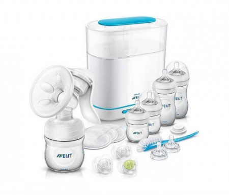 Avent natural starter set all in one ( SCD293/00 )