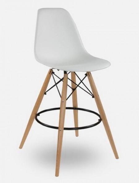Slika Barska stolica CHARLIE - Bela