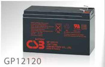 Slika CSB UPS baterija 12V-12 Ah GP12120 F2