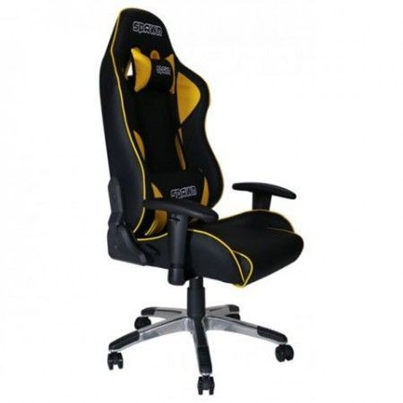 Slika Gejmerska stolica CP-BY1G Gaming Chair Spawn Champion Series Yellow