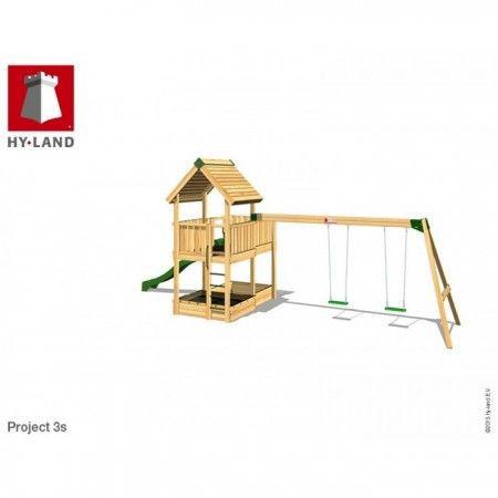 Slika Hy-Land Javno igralište - Projekat 3 sa ljuljaškama