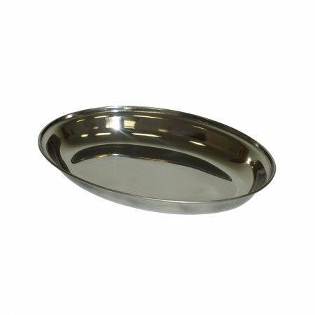 Slika Inox duboki ovalni poslužavni ( 92-445000 )