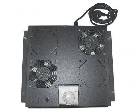 "Intellinet Ventilation Unit 2-Fan za 19"" Racks crni (712859)"