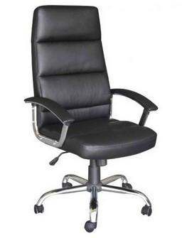 Slika Kancelarijska fotelja 6184 - Crna