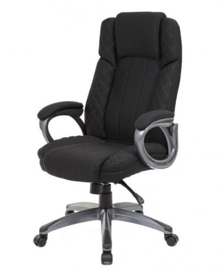 Slika Kancelarijska stolica OFFICE STAR od štofa - Crna
