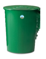 Slika Kontejner za vodu 200 l sa poklopcem i slavinom