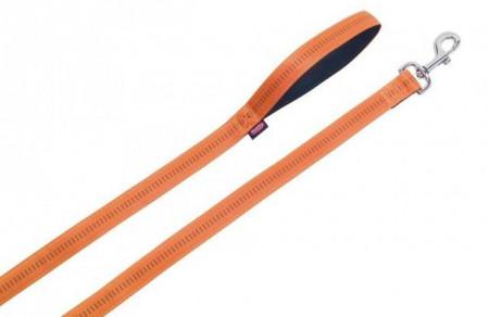 Nobby 78508-04 Povodac Soft Grip 10mmx120cm oranz ( NB78508-04 )