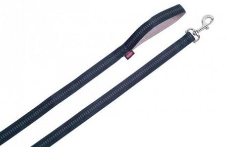 Nobby 78515-05 Povodac Soft grip 20mm, 120cm crni ( NB78515-05 )
