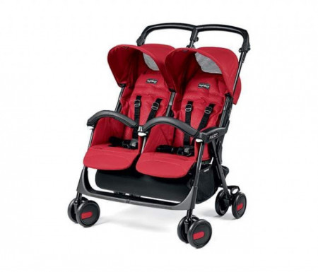Peg Perego Kolica aria shopper twin class.mod red ( P3180011330 )