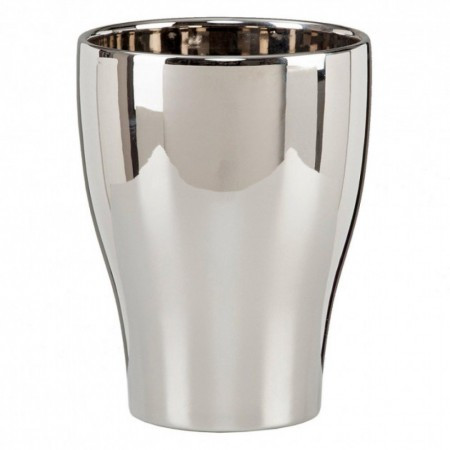 Scheurich saksija za orhideje 608/17 mirror silver ( SH 55166 )