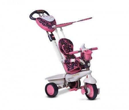 Slika Smart Trike Tricikli Dream team pink ( 1590200 )