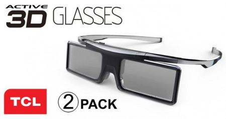 Slika TCL 3D Naočare GX21AB Active Shutter Glasses Double Pack Black