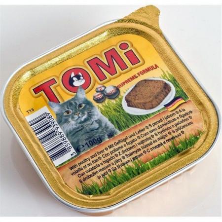Tomi hrana za mačke pasteta 100g živina/jetra ( TM43025 )