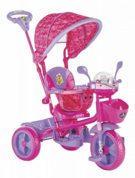 Slika Tricikl za decu Play pink - zvučni i svetlostni efekti ( 016  )