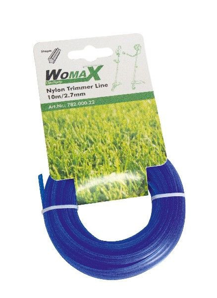 Slika Womax najlon za trimer 10m/2.4mm ( 78200021 )