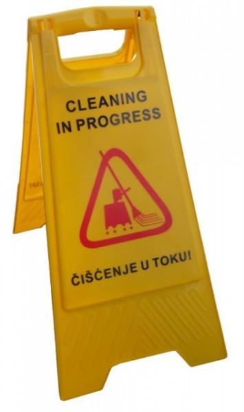 Slika Znak upozorenja - ČIŠĆENJE U TOKU