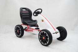 Abarth Licencirani Karting - Formula na pedale sa mekim gumama - Beli ( BJ 9388 )
