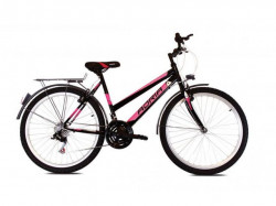 "Adria Bonita ctb 26""18ht crno-pink 19"" bicikl ( 916226-19 )"