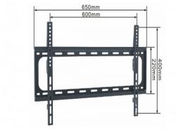 """Alpha nosac za TV/ 37""""- 70""""/FIKSNI/VESA do 600x400/ težina do 50kg/ 24m od zida/crn ( FIX 37-70 )"""