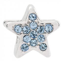 Amore Baci Zvezdica kristal srebrni privezak za narukvicu
