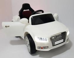 Audi A8 L Auto na akumulator sa kožnim sedištem i mekim gumama - Beli