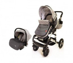 BBO Kolica za bebe matrix - 3u1 siva ( SI0008 )