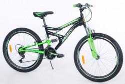 "Bicikl Focus 400 24""/18 crna/zelena ( 650044 )"