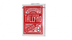 Bicycle Tally-Ho Half Fan Back Karte - Crvene ( 1006704R )