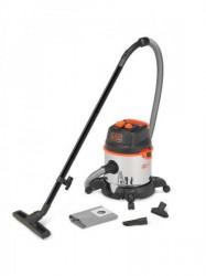 Black & Decker BXVC20XTE usisvač mokro - suvi 1400W 20Lit metalni rezervoar utičnica za alat