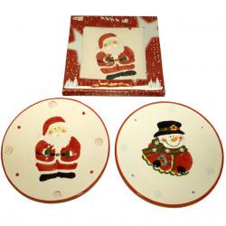 Bozicni tanjir od keramike 23cm ( 41-226000 )
