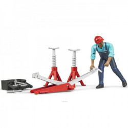 Bruder Figura set-mehaničar sa alatom ( 621001 )