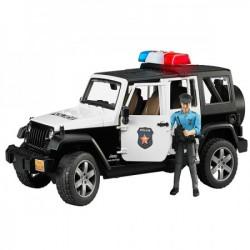 Bruder Jeep wrangler UR police sa policajcem ( 025267 )