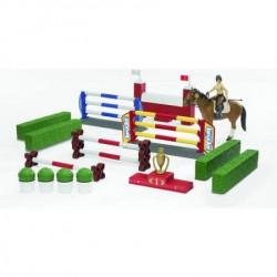 Bruder Prepone i prepreke za konje sa figurom konja i figura ( 625306 )