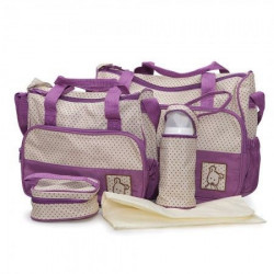 Cangaroo Torba za pribor Stella purple color ( CAN0224P )