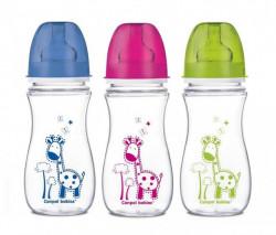 Canpol flašica široki vrat antikolik easy start colorful animals 300ml ( 35/204 )