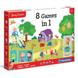 Clementoni mali istrazivaci igre 8 u 1 ( CL50602 )